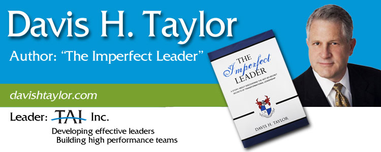 Davis H. Taylor - Author of The Imperfect Leader, Leader at TAI